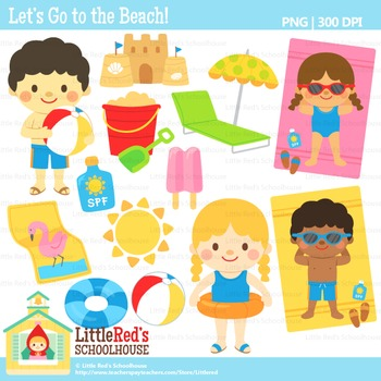 Vacation clipart let's go Summer Clipart $ clipart To