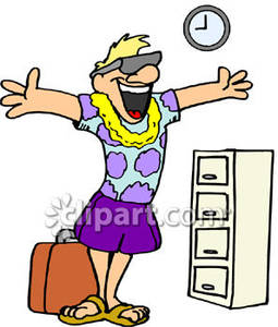 Vacation clipart man on Going Free Picture Picture Clipart