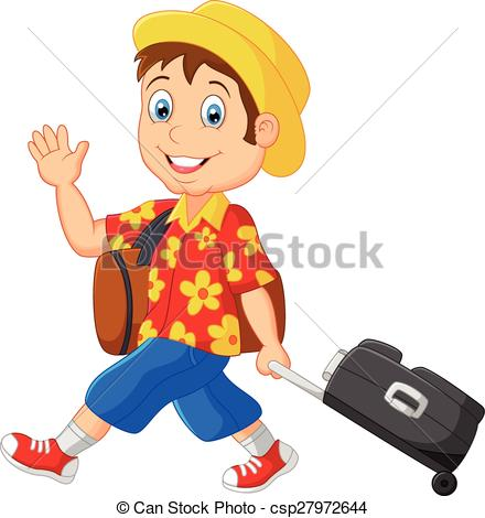 Vacation clipart man on Cartoon Vector of  outfit