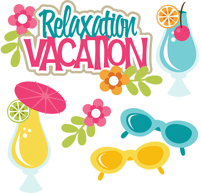 Vacation clipart relaxation Files svg cut  files