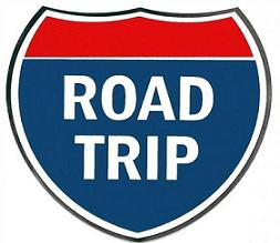 Vacation clipart road trip Free Free road Road clipart