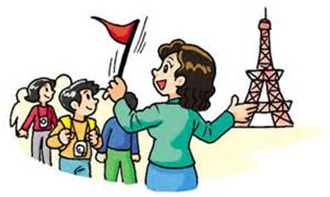 Vacation clipart tour guide Guide eAge Benefits learning of