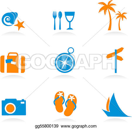 Vacation clipart tourism Illustration gg55800139 2 2 icons