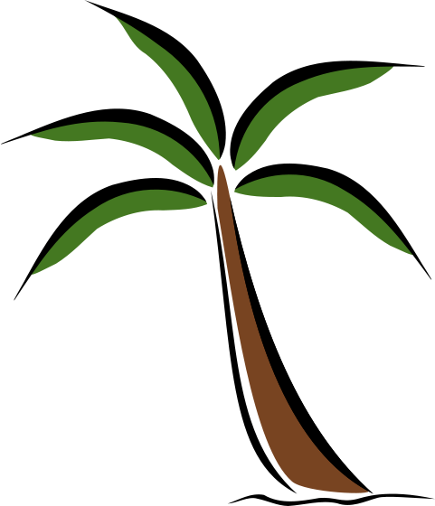 Vacation clipart tropical tree Download Clipart Clip Art on
