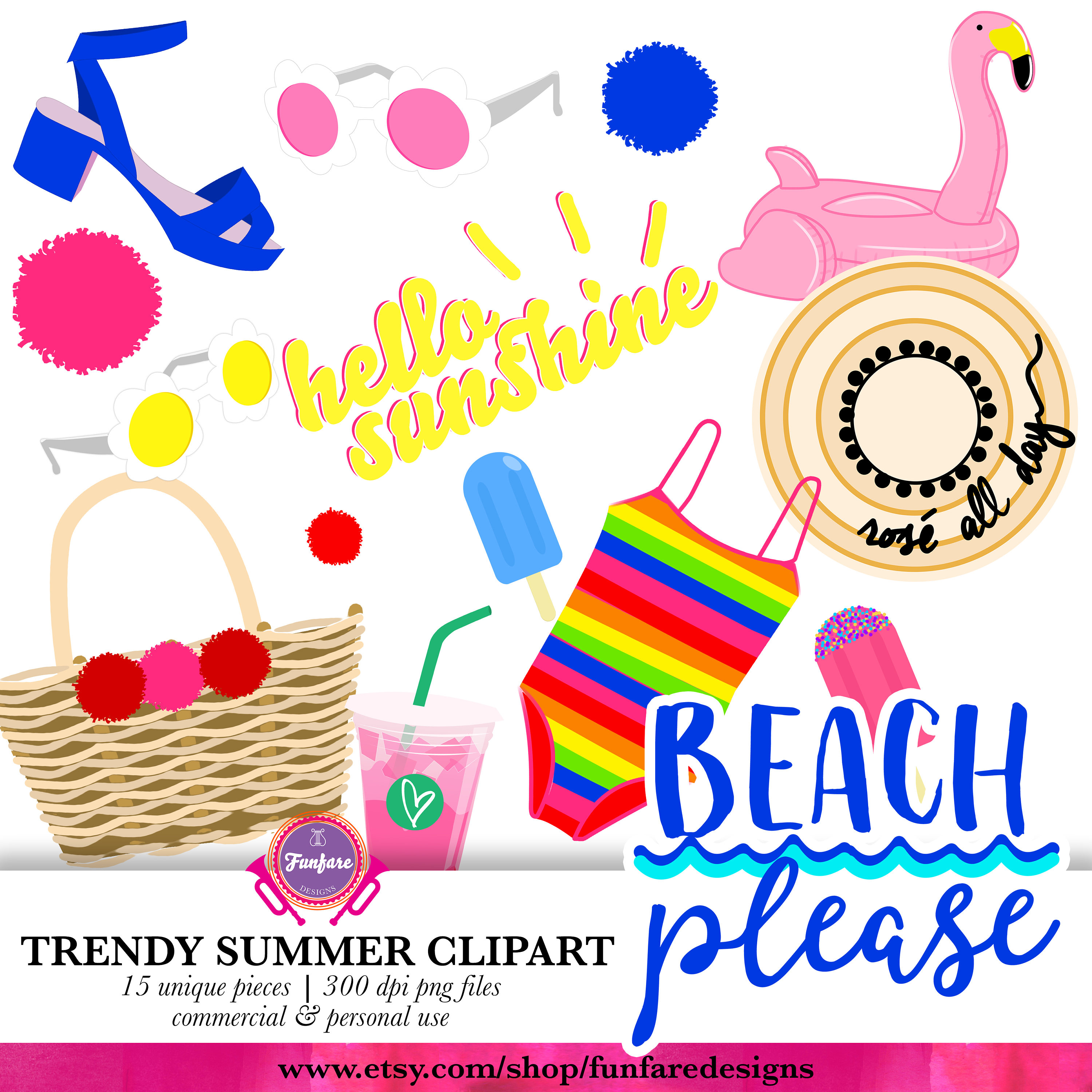 Vacation clipart yay  Clip Summer Clip Clip