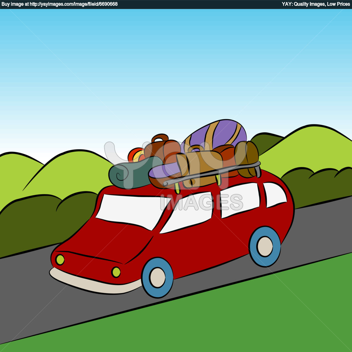 Vacation clipart yay Images family%20car%20trip Clipart Trip Free