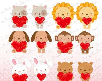 Animl clipart valentine Clipart with collection Valentine Valentine