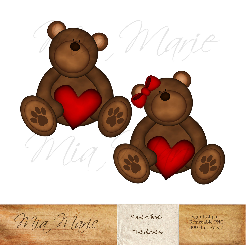 Teddy clipart valentines day teddy bear This Clip Art Like Clip