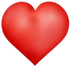 Broken Heart clipart valentine's day dance Graphics Day black red heart