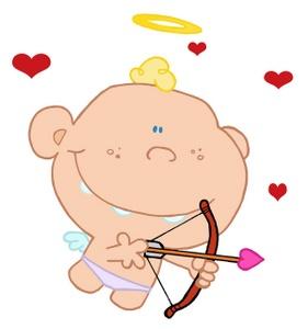 Cupid clipart cherub Valentine Printable 10 Clipart Hearts