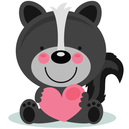 Animl clipart valentine Clipart with collection scrapbook Cute