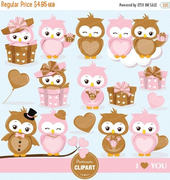 Red Headed Finch clipart etsy CA340 Owl Valentines Pinterest clipart