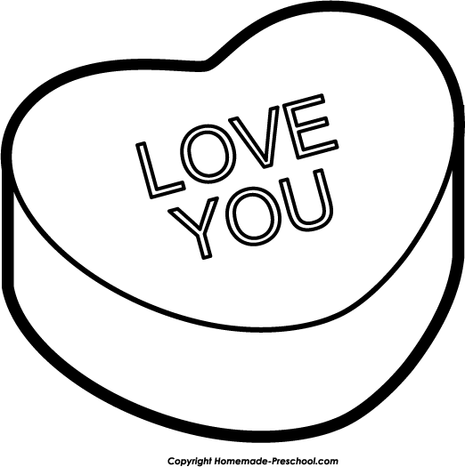 Amd clipart love  Clipart Valentine Heart Free