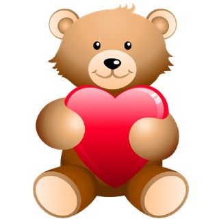 Teddy clipart valentines day teddy bear And With Art Bears images