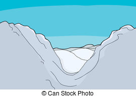 Scenery clipart mountain valley #9