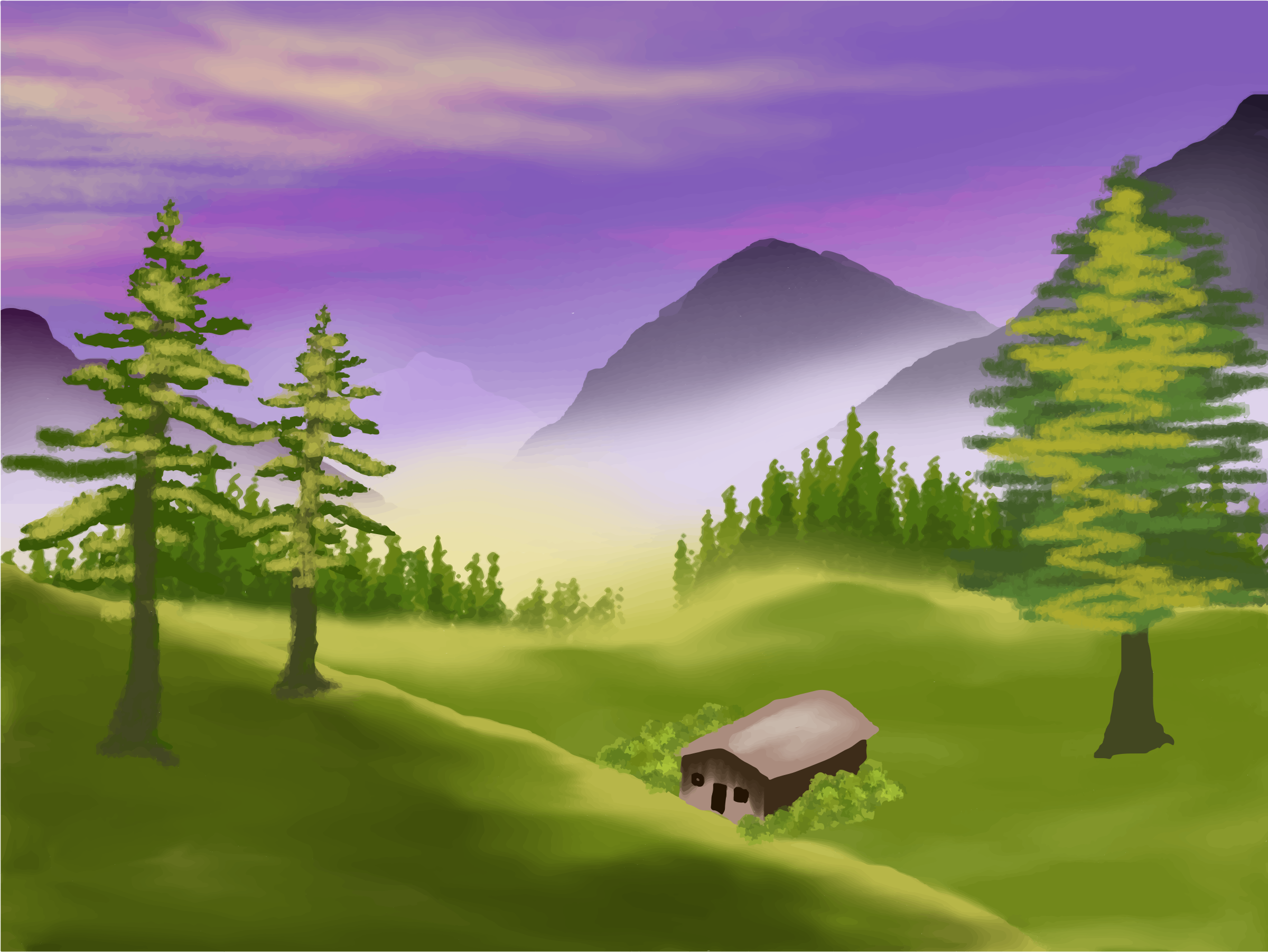 Tranquility clipart free love Valley Download Clip Valley Clipart