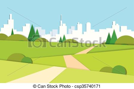 Valley clipart forest road To Modern Valley Road Summer