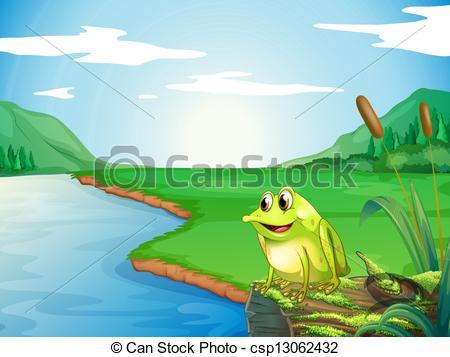 River clipart river bank #1