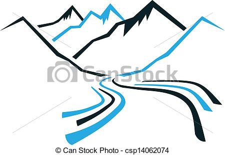 Valley clipart himalaya  csp14062074 Mountains Valley of
