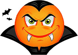 Vampire clipart Smiley Clipart Free Vampire Gifs