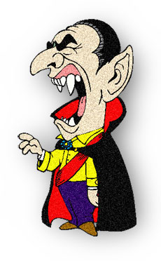 Vampire clipart animated Vampire Gifs Animations fangs Animated