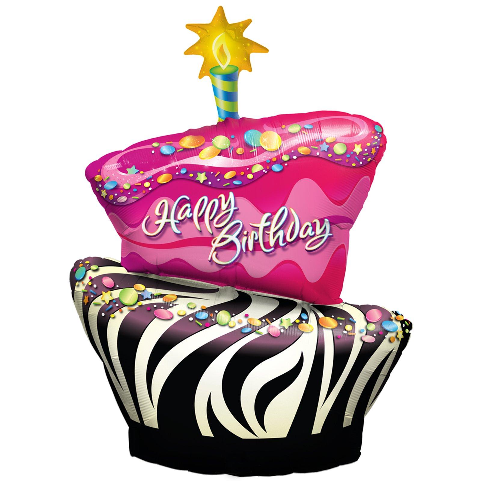 Vampire clipart birthday cake Of Cake cartoon Vector Happy