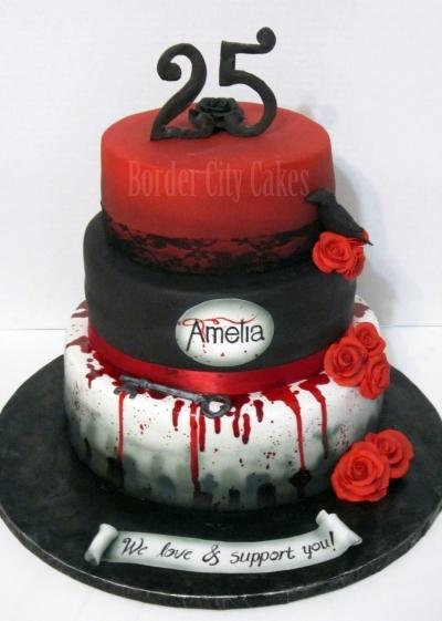 Vampire clipart birthday cake Color guard emilsmee Cupcakes com
