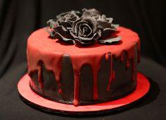 Vampire clipart birthday cake  cake for Pinterest 21st