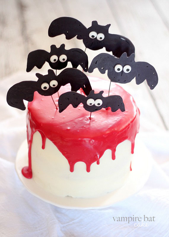 Vampire clipart birthday cake Food www Halloween Vampire Party
