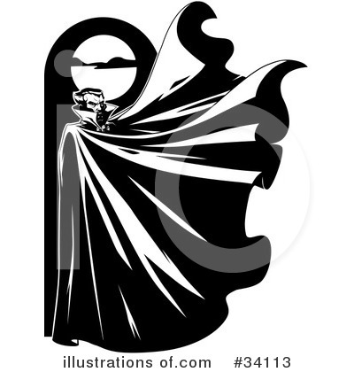 Vampire clipart black and white Lawrence Free  Vampire Vampire