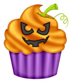 Halloween clipart birthday cake Pinterest 2 CUPCAKE HALLOWEEN HALLOWEEN
