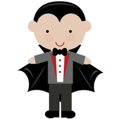 Vampire clipart halloween vampire Vampire Cute Clipart  Halloween