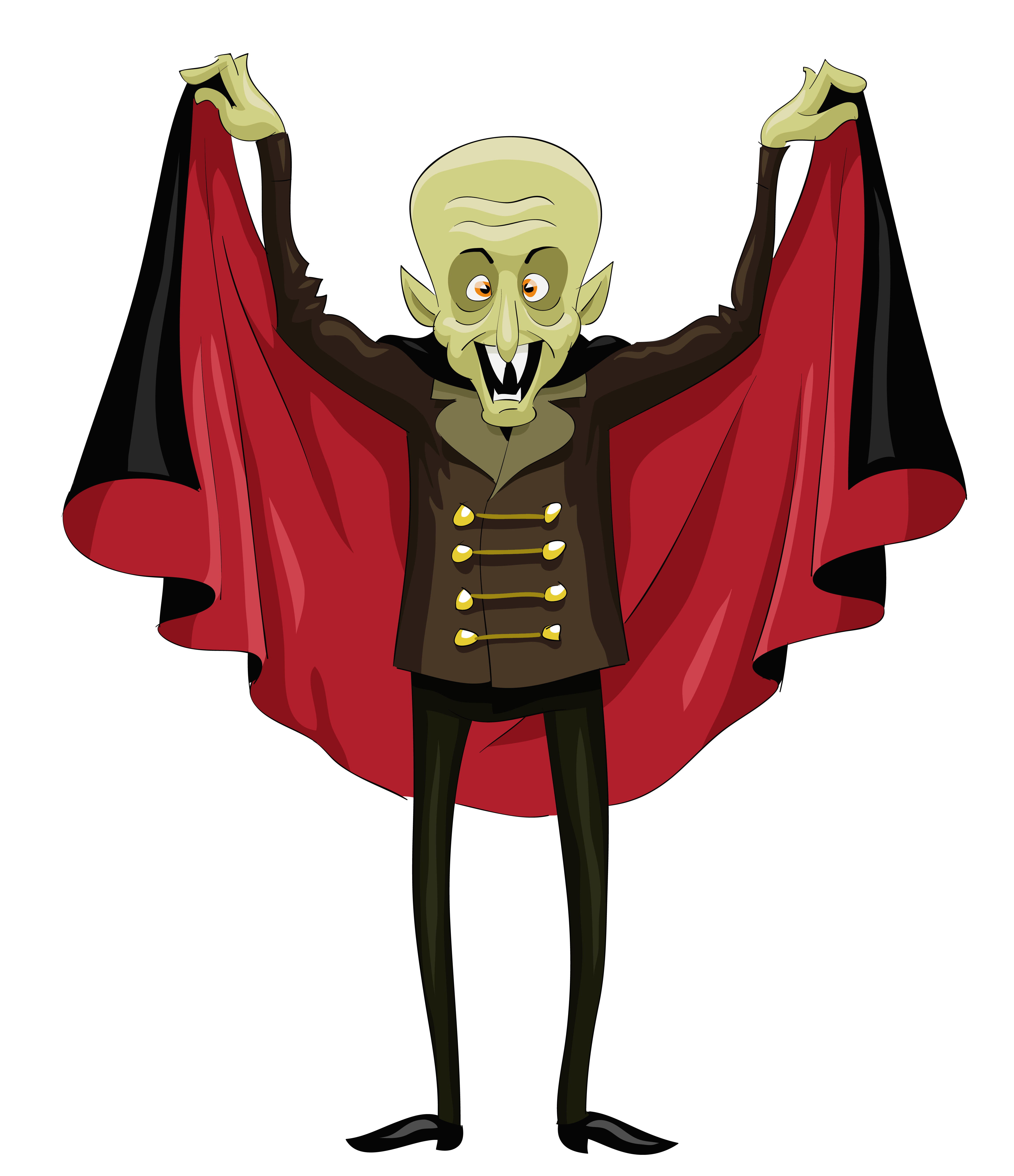 Dracula clipart halloween character Clipart Vampire full PNG available