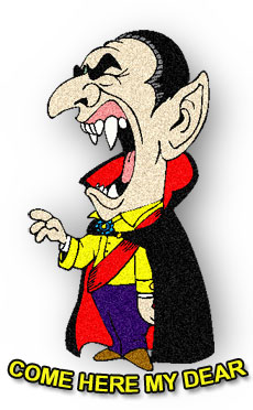 Vampire clipart halloween vampire Fangs with Animations Vampire Free