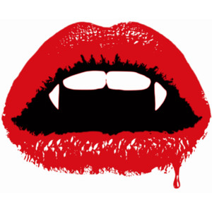 Vampire clipart mouth Cre Vampire mouth Scary t