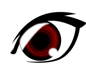 Eyeball clipart anime eye Vector Vampire Anime art