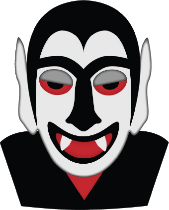 Dracula clipart frankenstein Dracula clip Face art