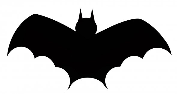 Shadow clipart bat #13