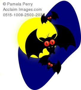 Bat clipart angry Halloween Vampire Bats a Cartoon
