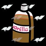 Vanilla clipart Clip Brown Art Vanilla Bottle