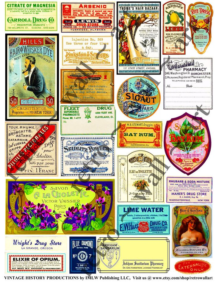 Vanilla clipart apothecary On Art Labels Clip best