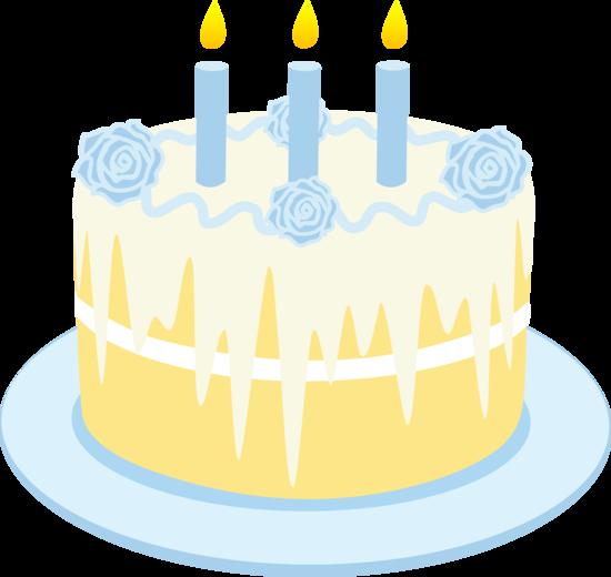 Yellow clipart birthday cake Clip Art Cake Art Art