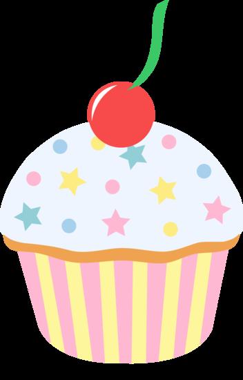 Pice clipart vanilla cupcake Cupcake Cupcakes Panda Images Free