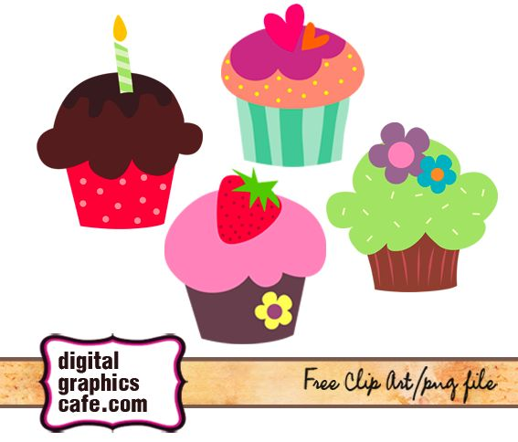 Vanilla Cupcake clipart candle clipart Clip #20 art 59 Fans