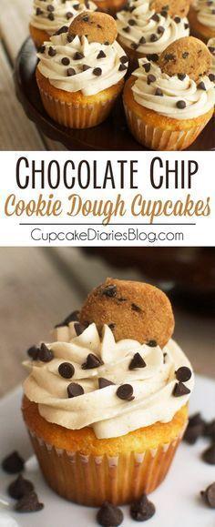 Vanilla Cupcake clipart cookie cupcake Chocolate Chip  vanilla Cookie
