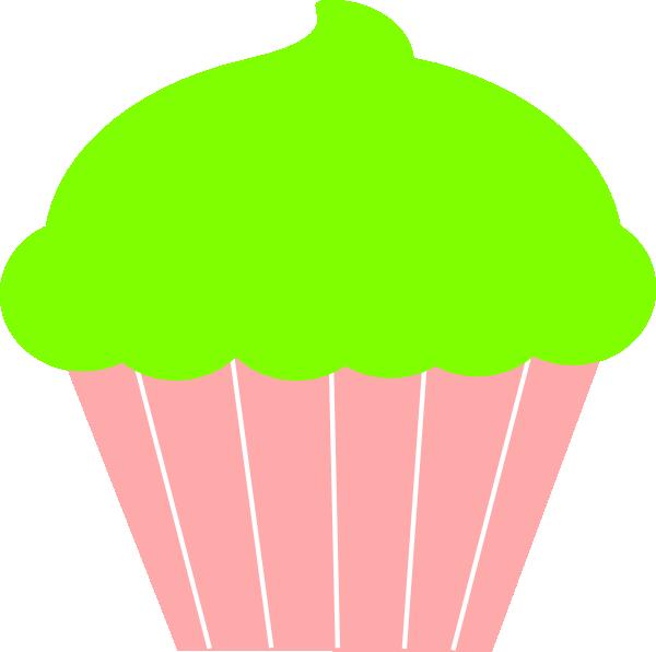 Vanilla Cupcake clipart green cupcake Green Free Free 73Kb green