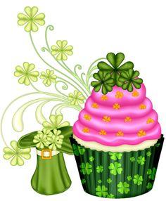 Vanilla Cupcake clipart green cupcake ‿✿⁀ posts blue pastry clipart