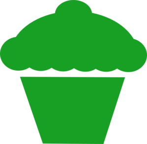 Vanilla Cupcake clipart green cupcake Pictures: Free green clipart cupcake