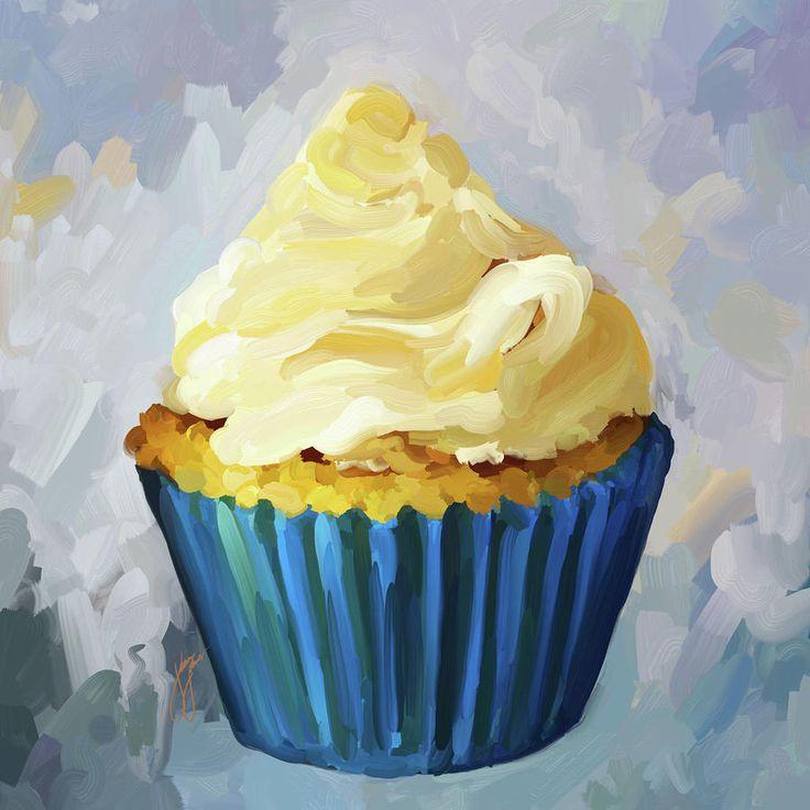 Vanilla Cupcake clipart one cupcake Kids Pinterest 25+ painting ideas