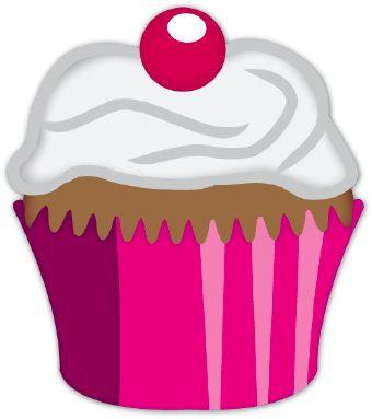 Vanilla Cupcake clipart pink cupcake > ETC & images Everything